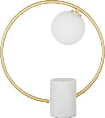 Lampada da tavolo con base in marmo Soho