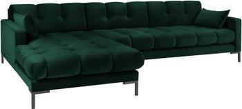 Sofa narożna z aksamitu Mamaia (5-osobowa)