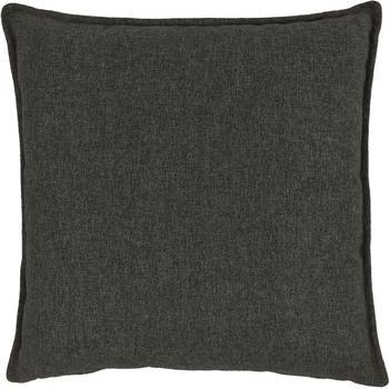 Coussin canapé 60x60 gris anthracite Lennon
