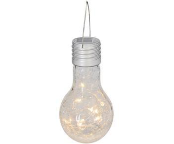 Ampoule solaire LED mobile Martin, 3pièces