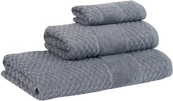 Set de toallas texturizada Katharina, 3pzas.