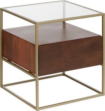 Table d'appoint avec tiroir Theodor