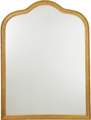 Miroir mural doré style baroque Muriel