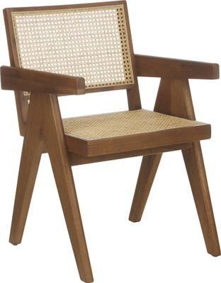 Stolička s opierkami s viedenským výpletom Sissi