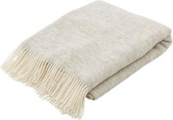 Manta de lana con flecos Tirol