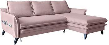 Sofá cama rinconero Charming Charlie, con espacio de almacenamiento