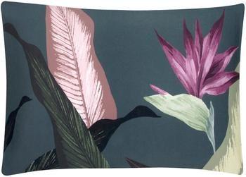 Funda de almohada de satén Flora, 50x70cm