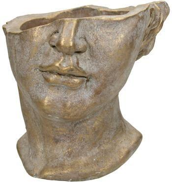 Osłonka na doniczkę z betonu  Face