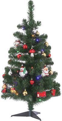 Künstlicher LED-Weihnachtsbaum Gently H 90 cm