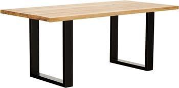 Jedálenský stôl s doskou z masívu Oliver