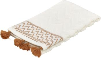 Handtuch Karma in verschiedenen Größen, mit Hoch-Tief-Muster