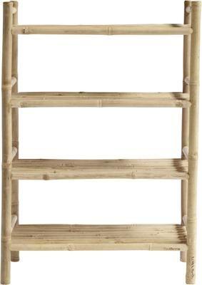 Regał z drewna bambusowego Bamra