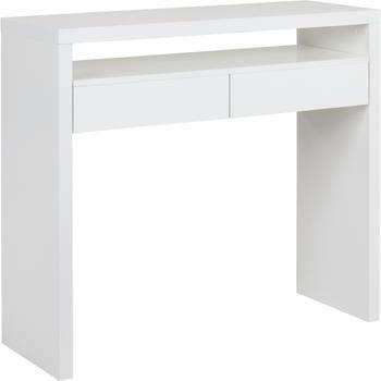 Wąskie biurko z wysuwanym blatem Teresa