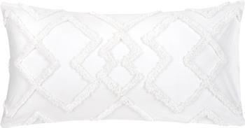 Obliečka na vankúš z bavlneného perkálu s tuftovanou dekoráciou Faith, 2 ks