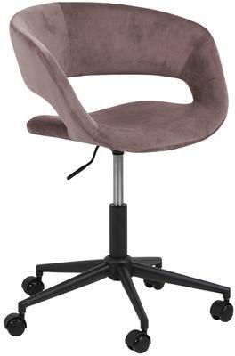 Krzesło obrotowe z aksamitu Grace