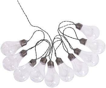 Guirnalda solar de luces LED Martin, 300cm, 10 luces