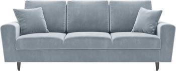Sofá cama de terciopelo Moghan (3plazas), con espacio de almacenamiento