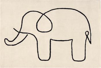 Alfombra Sketchy Elephant