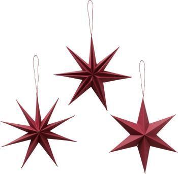 Set 3 ciondoli di Natale Mariola, Ø20 cm