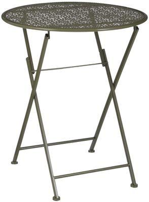 Table de balcon pliante en métal Ninet