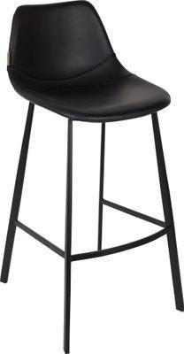 Krzesło barowe ze sztucznej skóry  Franky