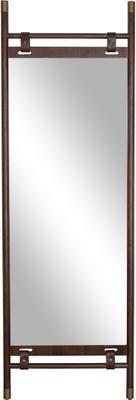 Stojací zrcadlo skoženými řemínky Riva