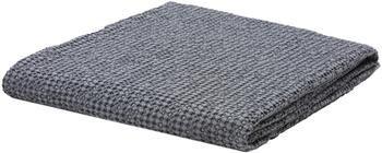Couvre-lit coton gris à surface texturée Vigo