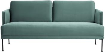 Canapé 2places velours vert clair Fluente