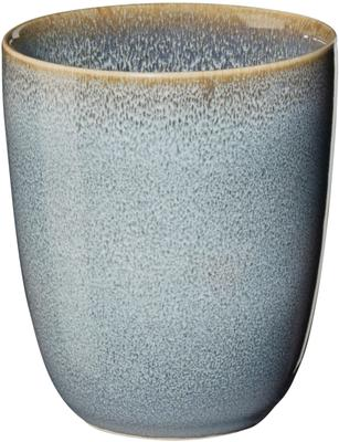 Mug rustique bleu Saisons, Ø22cm, 6pièces