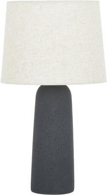 Lampada da tavolo con base in cemento Kaya
