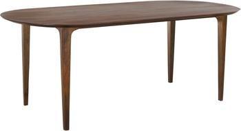 Tavolo ovale in legno massello Archie