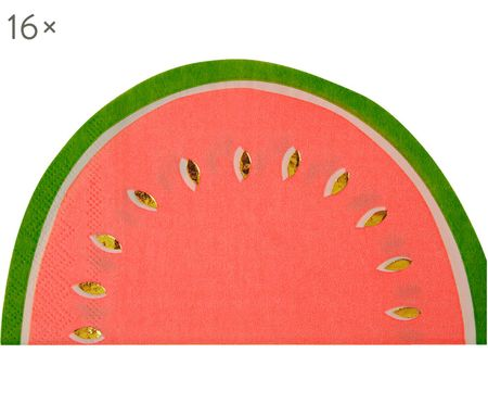 Servilletas de papel Watermelon, 16 uds.