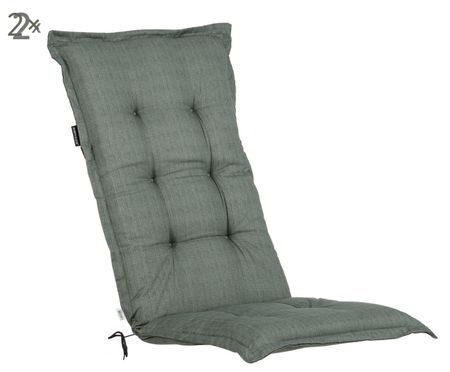 Hochlehner-Stuhlauflagen Basic, 2 Stück