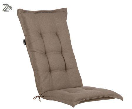 Matelas de chaise Basic, 2pièces