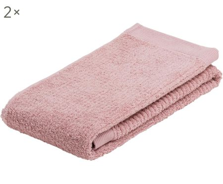 Handtücher Clas mit Streifenstruktur, 2 Stück