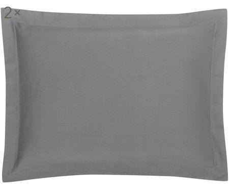 Taies d'oreiller en satin de coton Premium, 2 pièces