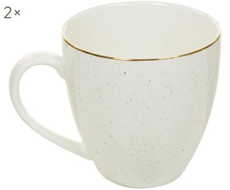 Ręcznie wykonany kubek do kawy Bol, 2 szt.