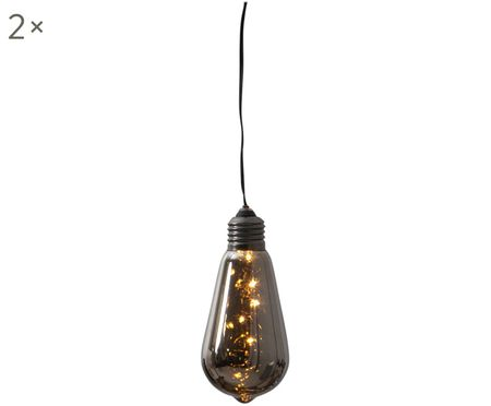 Lampa dekoracyjna LED z funkcją timera Glow, 2szt.