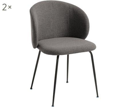 Gestoffeerde stoel Minna