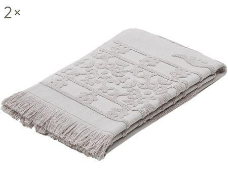 Handtücher Hammam mit Hoch-Tief-Webung, 2 Stück