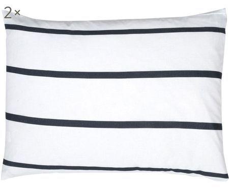 Taies d'oreiller en coton Blush, 2 pièces