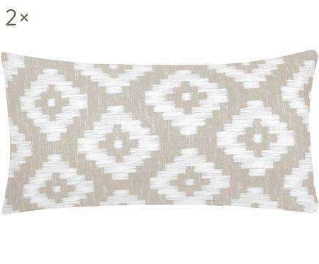 Perkálový povlak na polštář s boho vzorem Calliope, 2ks