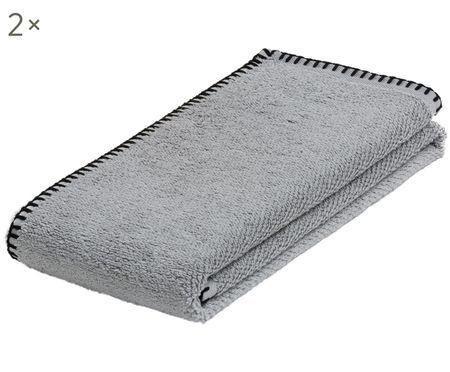 Handtücher Deluxe Prime mit umfassendem Kettelstich, 2 Stück