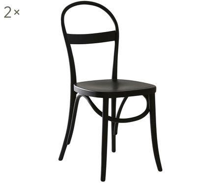 Sedia in legno Rippats 2 pz