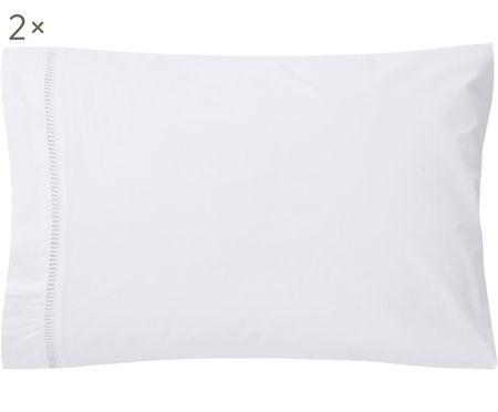 Fundas de almohada con bordado de vainica Ajour, 2uds.