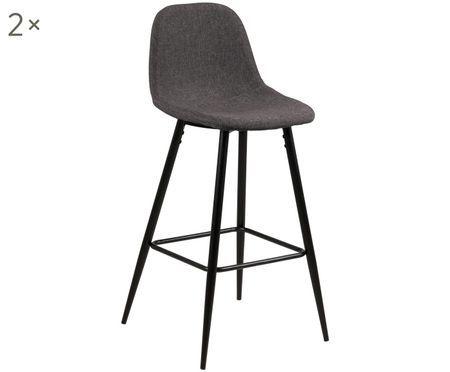 Krzesło kontuarowe Wilma, 2 szt.