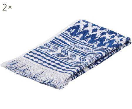 Asciugamano per ospiti Indigo 2 pz