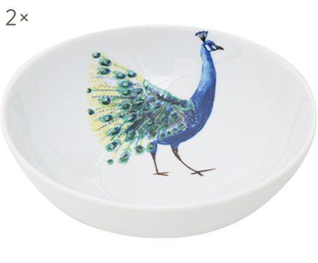 Ciotole Peacock, 2 pz.