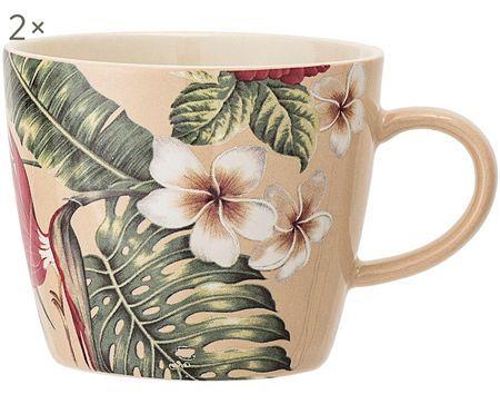 Hrnek na kávu Aruba, 2 ks
