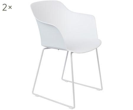 Chaises design avec accoudoirs Tango, 2pièces